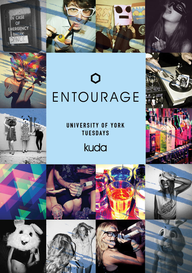 flyer design entourage york 2014
