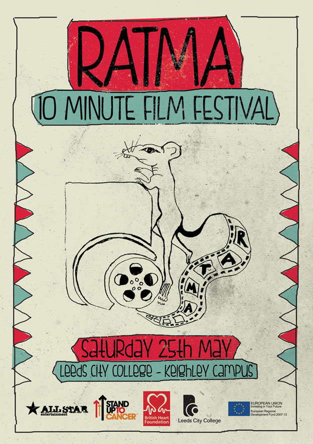 flyer design ratma film festival