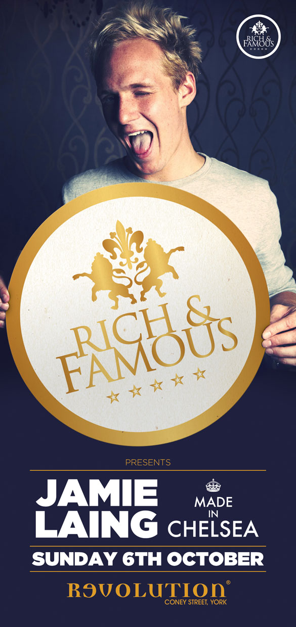 flyer design rich famous york