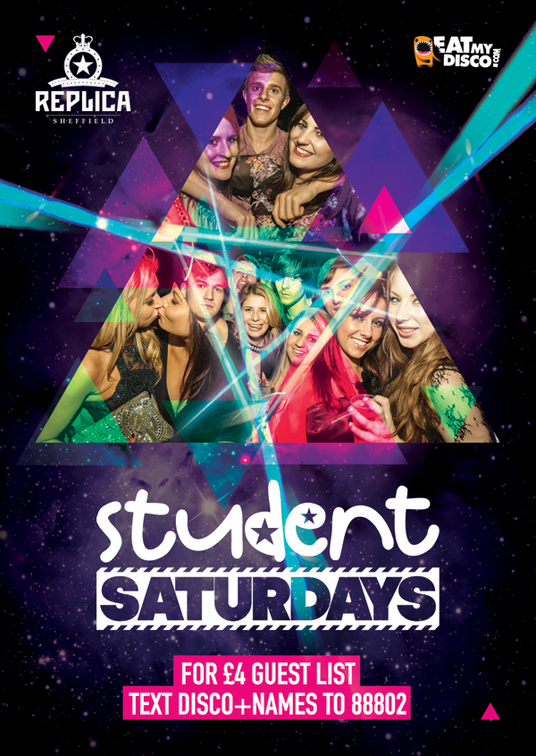 flyer design student saturdays sheffield